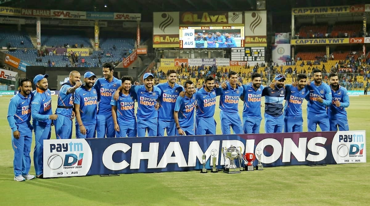 Absolutely brilliant performance by #TeamIndia    Heartiest Congratulations to Indian team for clinching the ODI series against Australia by 2-1.  #INDvAUS<br>http://pic.twitter.com/rMMiFAXI1d