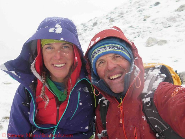 Gasherbrum Expedition is over.   Simone Moro have fell into the crevasse, Tamara Lunger have saved Simone from the crevasse. Both are evacuated now in hospital  #winter #gasherbrum #expedition  #karakoram