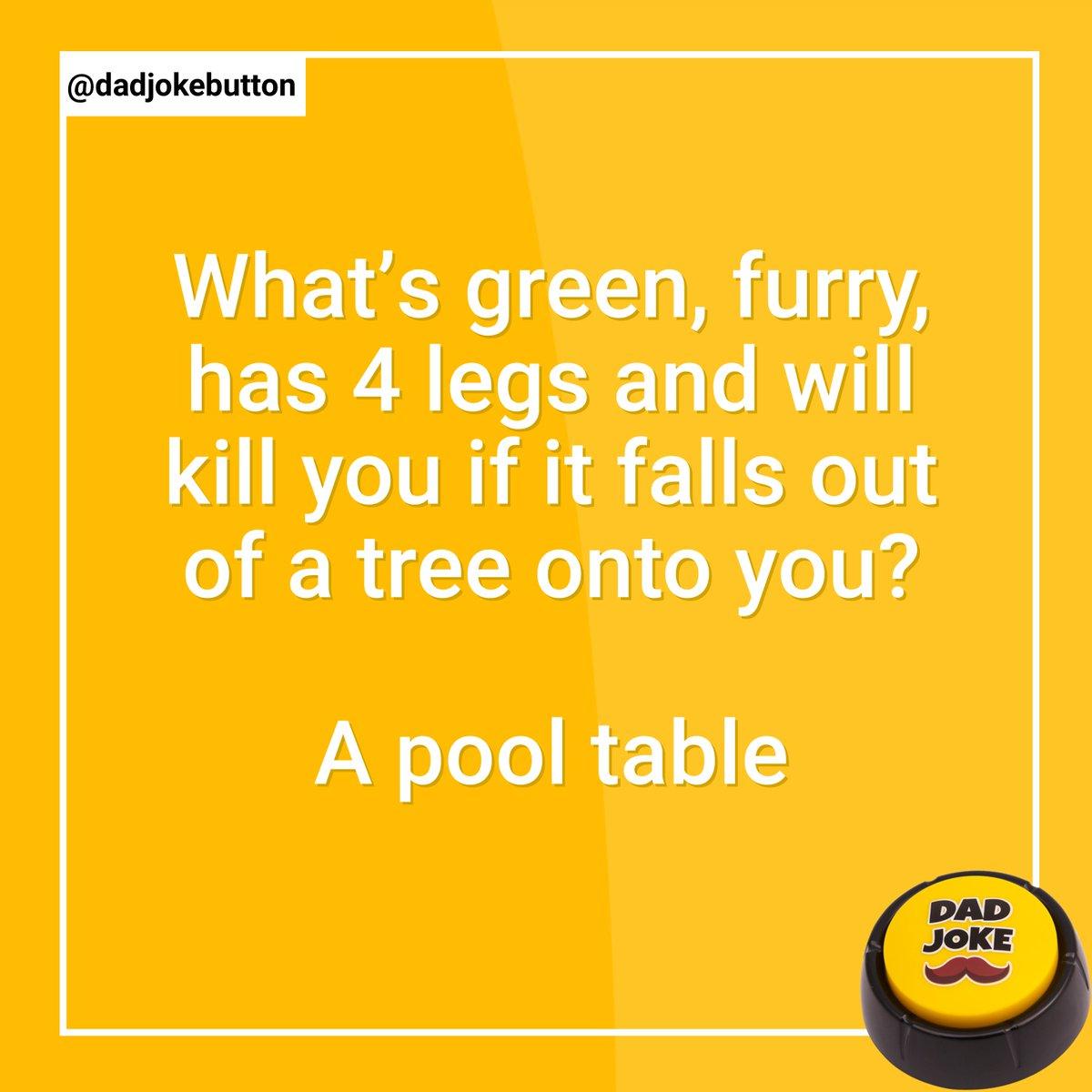 Follow @dadjokebutton  .  #dadjoke #dadjokes #jokes #joke #funny #comedy #puns #punsworld #punsfordays #jokesfordays #funnyjokes #jokesdaily #dailyjokes #humour #relatablejokes #laugh #joking #funnymemes #punny #pun #humor #talkingbuttonpic.twitter.com/SSMOzdmas8