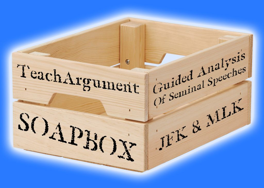 "Check out ""SoapBox"" for a guided analysis of both JFK & MLK.  Awesome lesson, and especially timely this week...! #engchat #aplangchat #2ndaryela #elachat #teachwriting #nctechat    https:// buff.ly/2TzJvyd     <br>http://pic.twitter.com/EOEwkQNoVD"