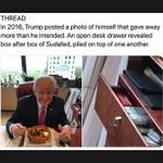 Image for the Tweet beginning: ADDERALL  — an amphetamine (upper)  — trump