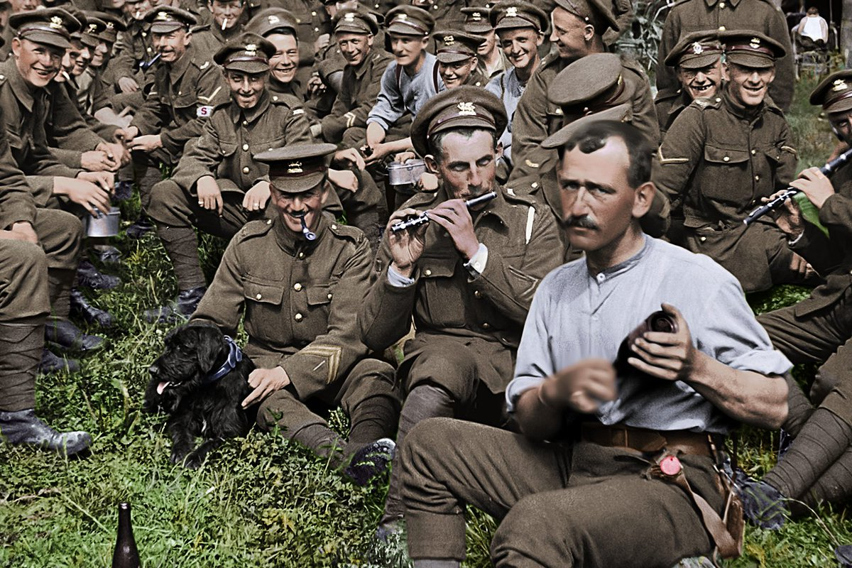 """""""They Shall Not Grow Old"""". Watching Peter Jackson tinker with WW1 is like watching George Lucas tinker with """"Star Wars"""". Only way more offensive. pic.twitter.com/PkteSrh9tR"""