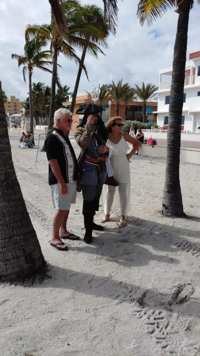They are #married #captainjack! #johnnydepp #captainjacksparrow #jacksparrow #piratesofthecaribbean #johnchristopherdeppii #depphead #hollywoodbeachflorida #beaches #beautifulbeach #paradise #vacations #miamiblogger #miamiinfluencer #floridabeaches #southflorida #blue #staysaltypic.twitter.com/9oPuaKCXJD – at Palm Beach Wedding Expert