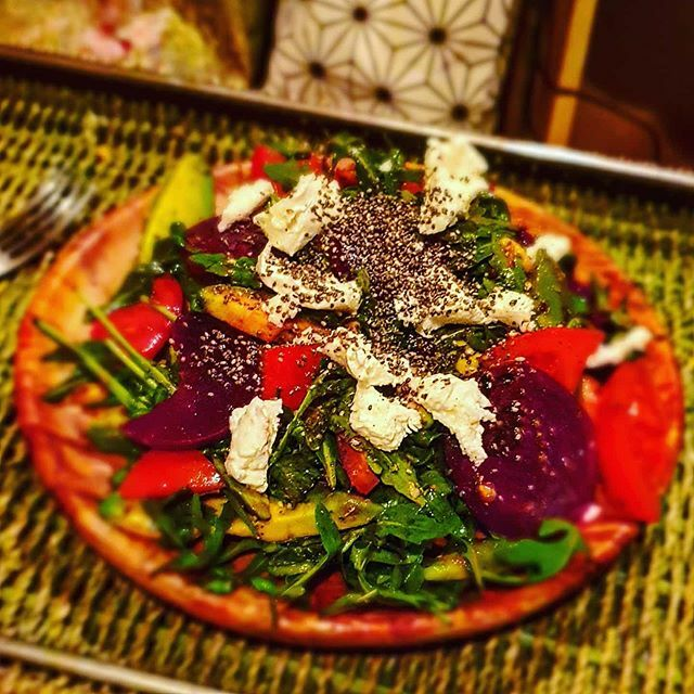 Tomorrow's a big day, don't screw it up by going on a bender, 'healthy fats salad'... #healthyfats #saladdays #nutritious #avocado #goatscheese #beetroot #eatwell #eatungwindows #Intermittentfasting #lchf https://ift.tt/368x1Abpic.twitter.com/Ge6iCBXr13