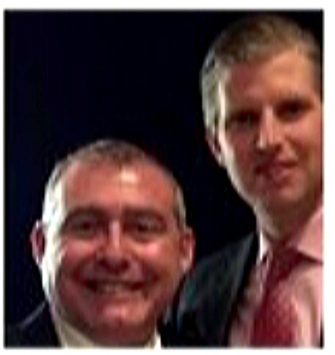 Here is Eric Trump with Lev Parnas, who the Trump Family absolutely doesn't know. #Parnas