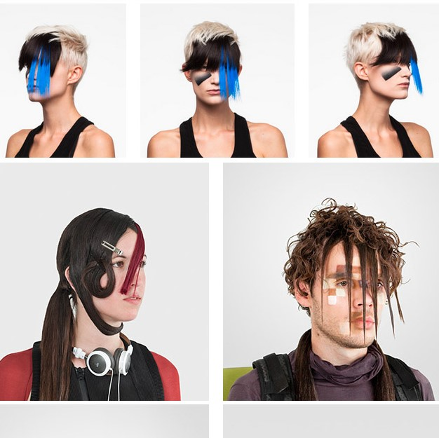 i've always found it kind of interesting that the best way to confuse facial recognition tech is to make yourself look like a nightclub extra in a 1990s near-future cyberpunk movie. did they know this?