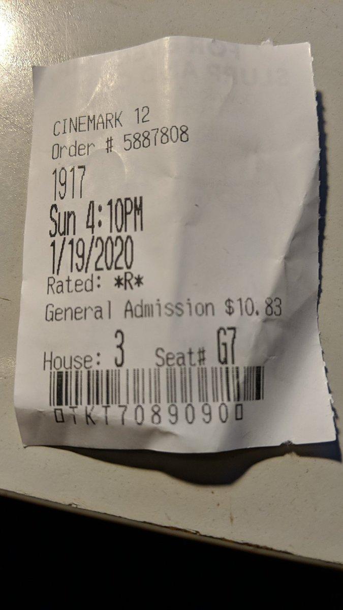 What a great #Movie #1917TheMovie #ColinFirth @BenedictCumberB @_richardmadden #georgemackay @Dean_C_Chapmanpic.twitter.com/sSoqY4qKmP