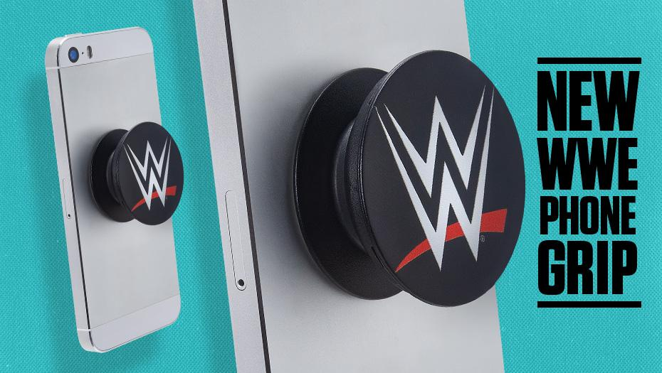 Hold your phone in style with the ALL NEW #WWE Logo Phone Grip! Get yours today only at #WWEShop!