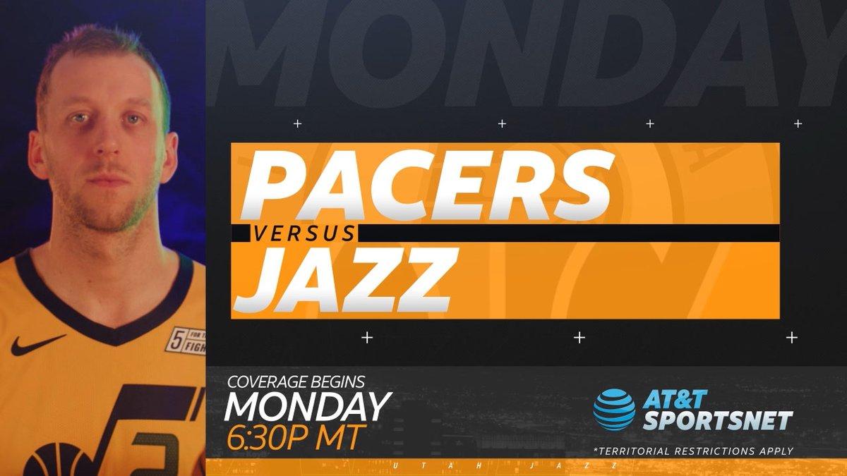 The Jazz take on the Pacers tomorrow at 6:30pm!   @utahjazz | #TakeNote