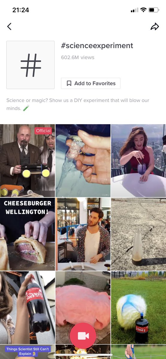 Dear all #scienceteachers - right now #scienceexperiment is trending on @tiktok_uk - use this as inspiration for your lessons tomorrow and earn respect from your students #edutwitterpic.twitter.com/mvsePCYRvV