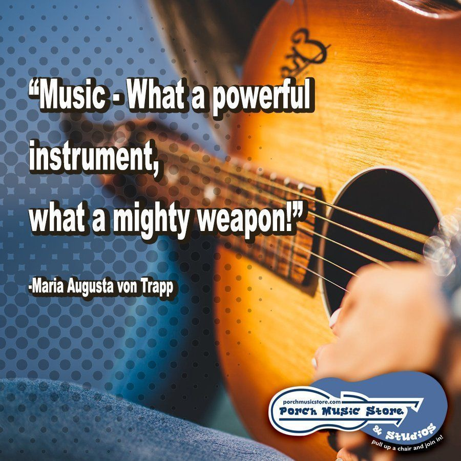 Music can reduce stress and anxiety, lift your mood, boost your health, help you sleep better, take away your pain, and can even make you smarter!  http:// porchmusicstore.com     #music #musicstore #franklinpa #musiceducation #musiclessons #musicinstruments<br>http://pic.twitter.com/ygDKA6tFry