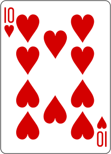You have been dealt the 10 of hearts♥️ #cards #houseofcards #Suits #spades #hearts #clubs #poker #pokeronline #deckofcards #cardgames #MondayVibes  #TuesdayThoughts #WednesdayWisdom #ThursdayThoughts #FridayFeeling #weekendvibes #WeekendKaV