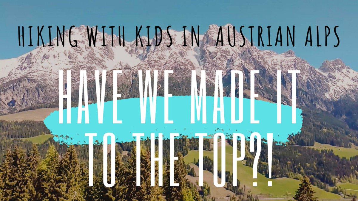 New video on my YT channel >>> https://www.youtube.com/watch?v=KDvPxKL6dBY&t=1s… #travel #hiking #hikingwithkids pic.twitter.com/DvrfnTy9UV