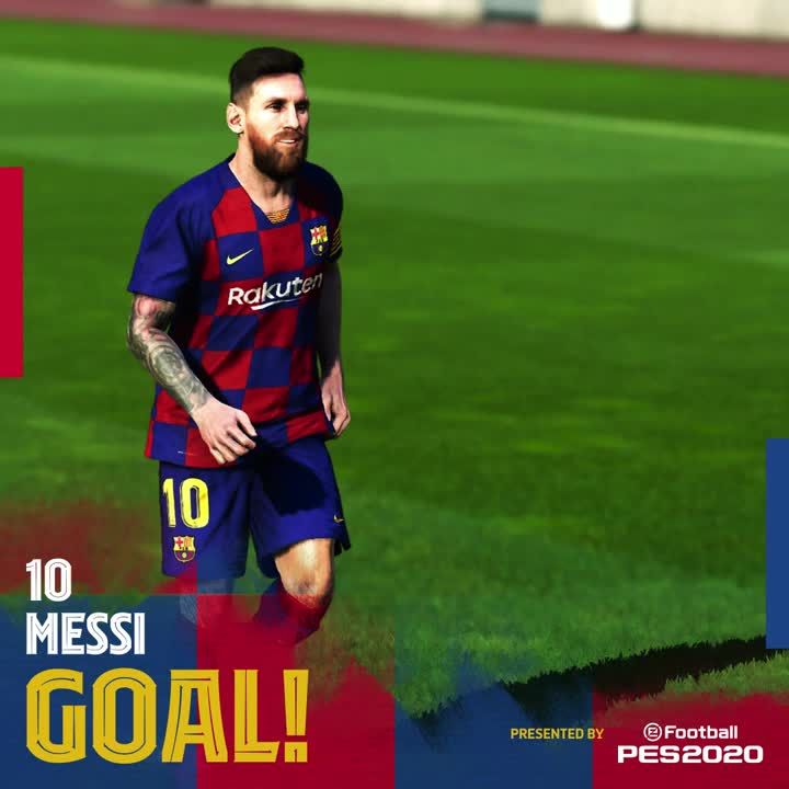 HES DONE IT! @RiquiPuig begins the play with a steal deep in Granada territory, and Leo #Messi finishes from the doorstep! 🤯