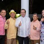 Image for the Tweet beginning: Nuestro Presidente @JosePaliza encabeza una