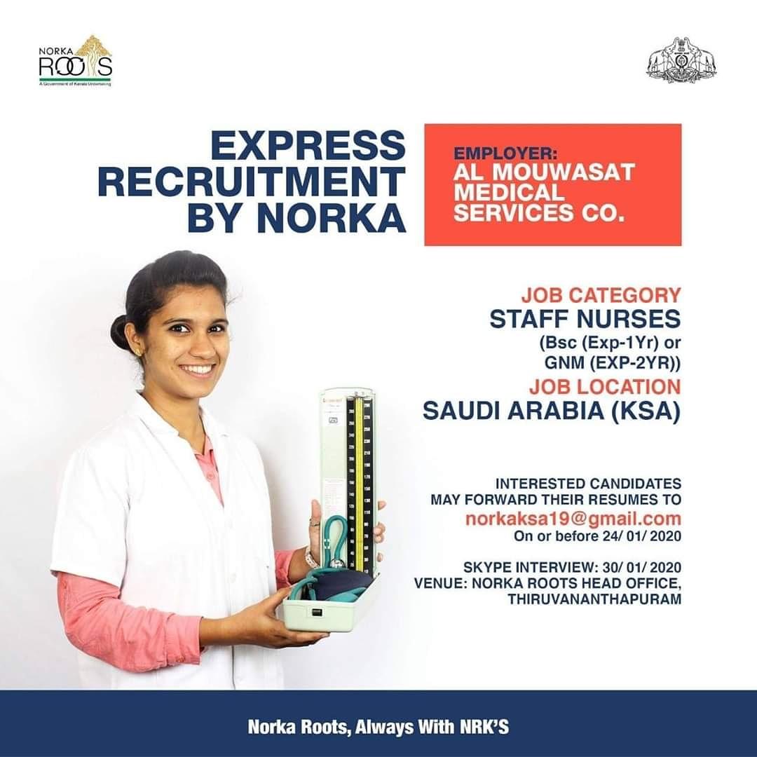 Follow and share... Get good job....#staffnurse #bscnursing #Job4joy #Jobvacancy #job  #carrier #gulfjob #jobnews   #trendigjobs #newjob #newjobs #jobupdate #keralajob #india  #Tvm #trissur #palakkad #malappuram #kozhikode #calicut #wayanad #kannur #kasaragod@norkarootspic.twitter.com/CvR6G1ueJe