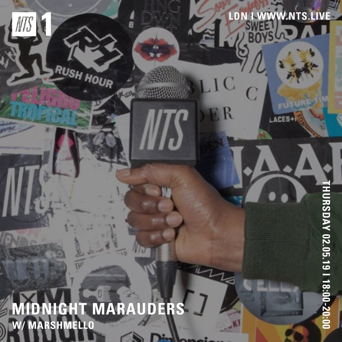 About to go Live @NTSlive 4 Midnight Marauders. You know the drill. Mx pic.twitter.com/MQ2mPCCTK7