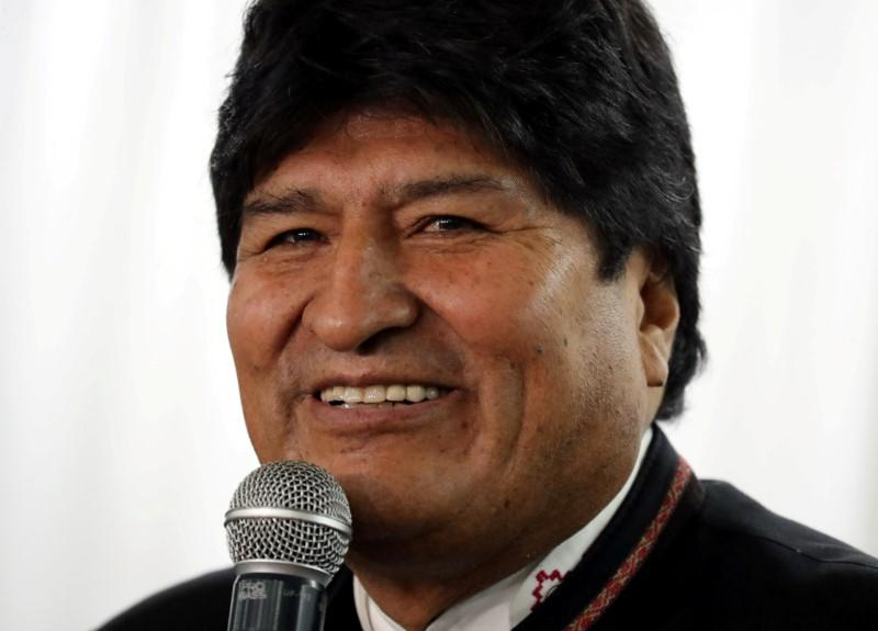 U.S. official accuses ex-leader Morales of fostering violence in Bolivia https://reut.rs/2RvMgxQ
