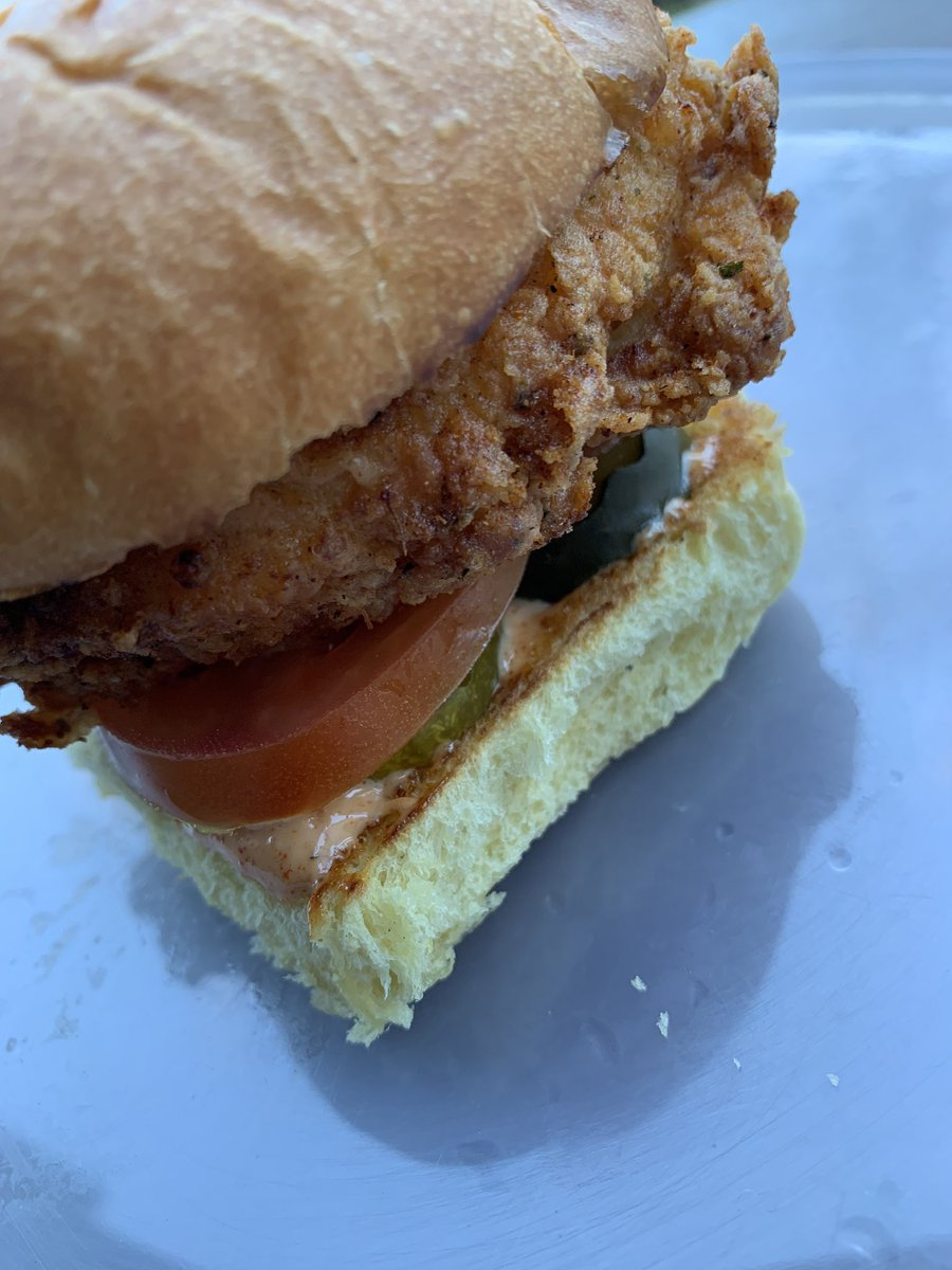 My version of the Chicken Sandwich  (As promised hit my messages for step by step and recipe)<br>http://pic.twitter.com/PABpDh3uam