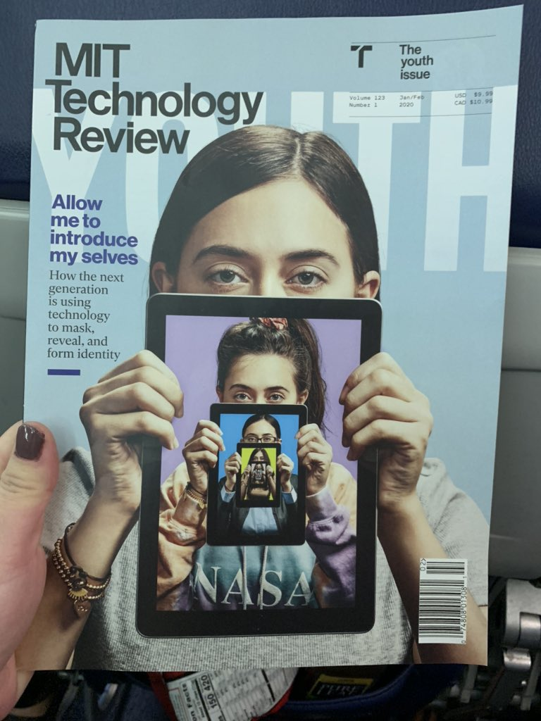Some fascinating reading for the plane. #Future of Self. #XR #AI #virtualbeings #artificialhumans #avatars #HCAI #wired #EmergingTech <br>http://pic.twitter.com/STe6g0Gl3L