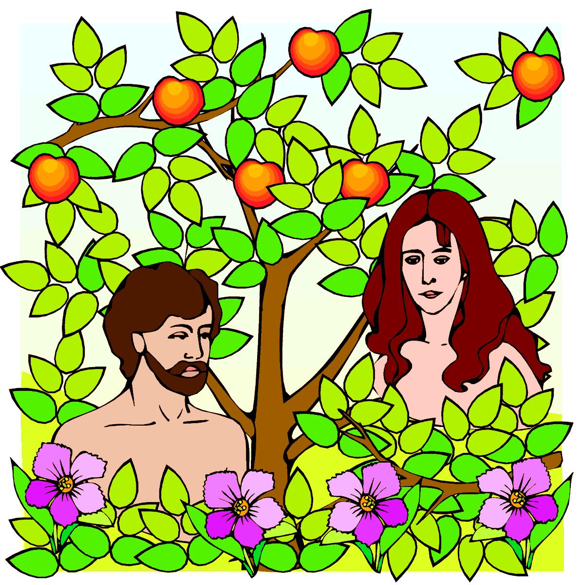 Анимация адам и ева