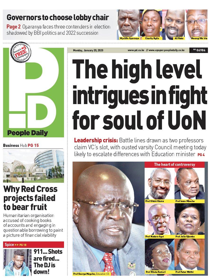 Intrigues behind University of Nairobi leadership wars https://bit.ly/3arEnSPpic.twitter.com/d1c14BBNMr