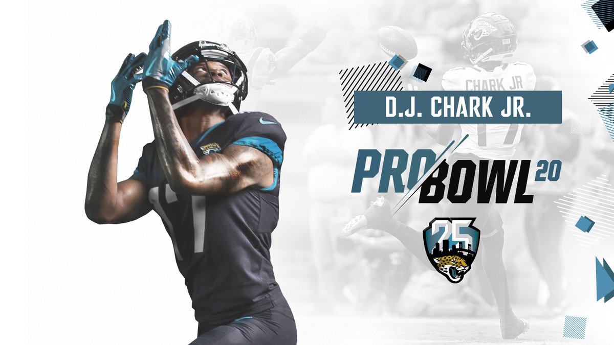 ⚡@DJChark82 ⚡ is headed to the Pro Bowl! He's the 4th WR to make a Pro Bowl in franchise history.