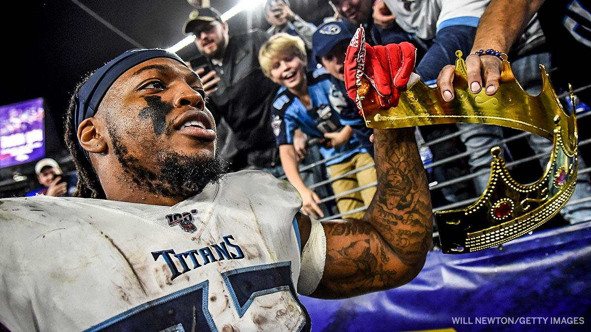 Derrick Henry rushed for 1,342 yards over his last 9 games to finish the season.A year to remember for the Titans running back 💪👑