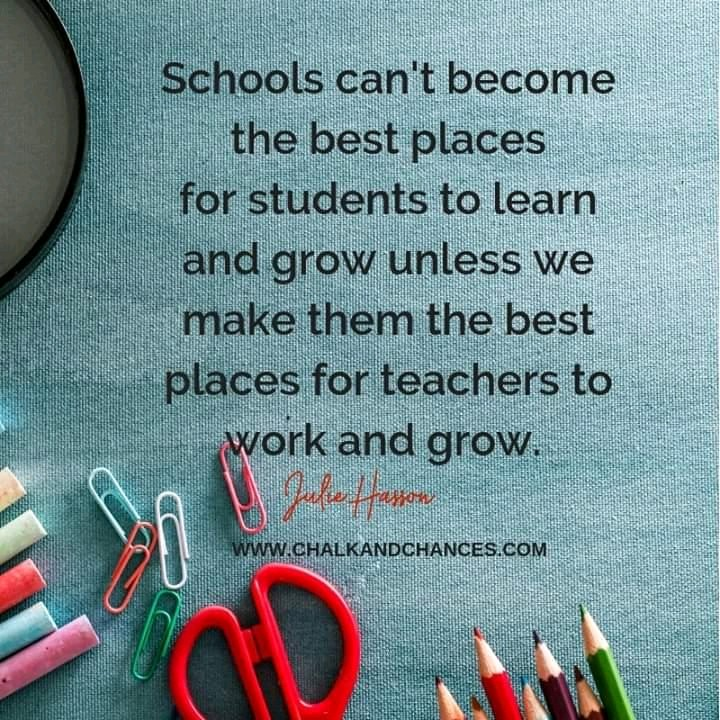 Does your school promote teacher professional learning? Your answer matters.