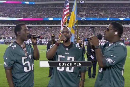 Packers vs. 49ers: Fans were confused to see Boyz II Men sing anthem