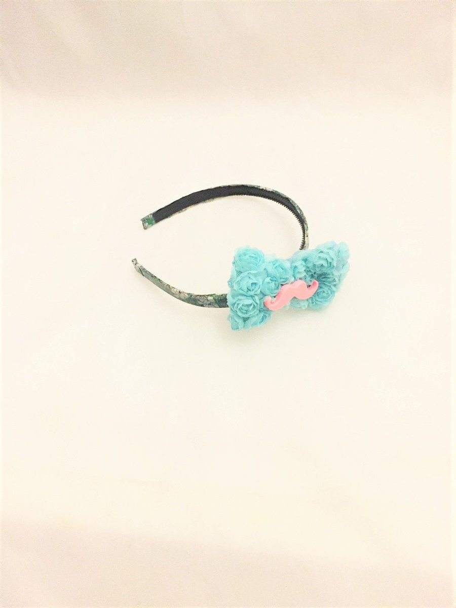 Mustache Headband, Floral Bow Accessory, Funny Headband for Girls, Girly Headbands for Her, Easter Basket Fillers, Easter Outfit, Pastel Bow  http:// tuppu.net/de447aa8     #happyholidays #blackfridaysale #christmasgifts #etsyholiday #EasterOutfit <br>http://pic.twitter.com/ZNg7kyyF6r