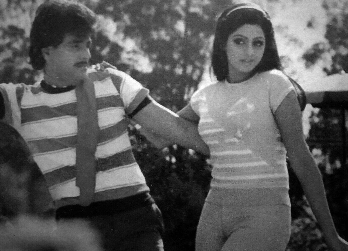 #TheFirstFemaleSuperstar #Sridevi And #Jeetendra #Rarepic #80s #Bollywood #StarPair #SuperhitJodi   #SrideviLivesForever   @ProudSridevians @SrideviFanClub @sridevi_ru @SrideviKapoor @Sridevi_Armenia