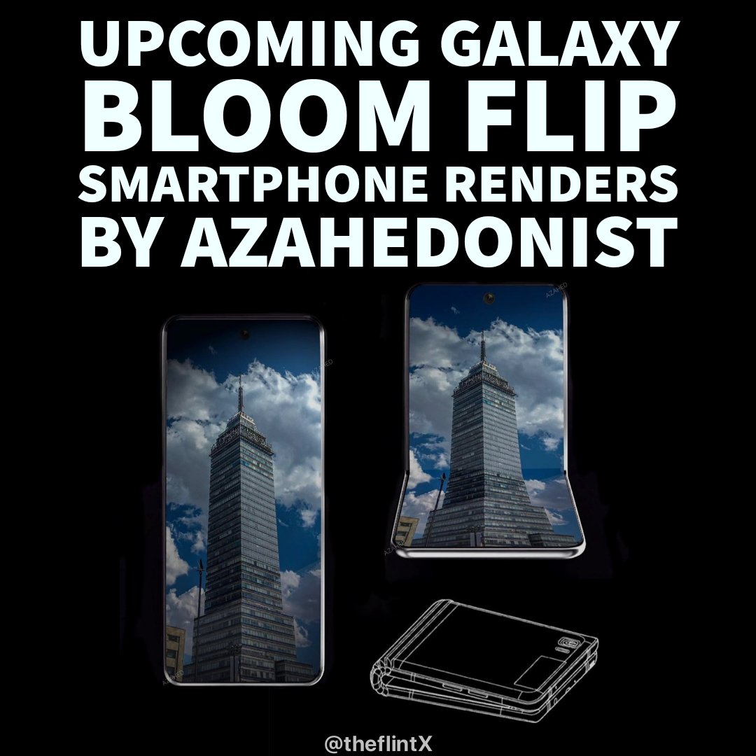 #Galaxy #bloom #flip renders by @azahedonist.  For regular tech updates http://Instagram.com/theflintX   #realmeui #android10 #galaxyevent #samsungs20ultra #siliconvalley #techleaks #techupdates #futuretech pic.twitter.com/WRQ7u8fHmK