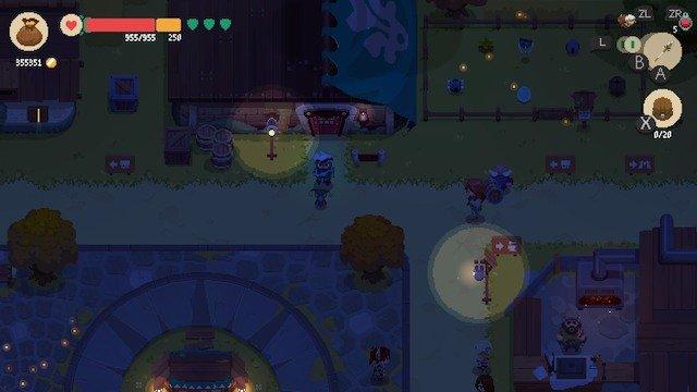 【オモコロブロス】【ゲームレビュー】ムーンライター 店主と勇者の冒険(作:リックェ)夜に副業する人を moonlighter というのかっこよくないですか?Nintendo Switchのダウンロードゲーム「ムーンライター 店主と勇者の冒険」をレビュー。