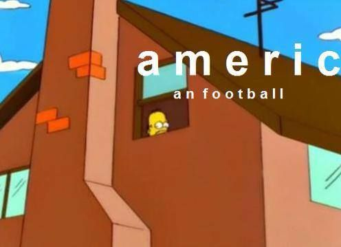 Ireland Simpsons Fans On Twitter Meanwhile In The World Of American Football