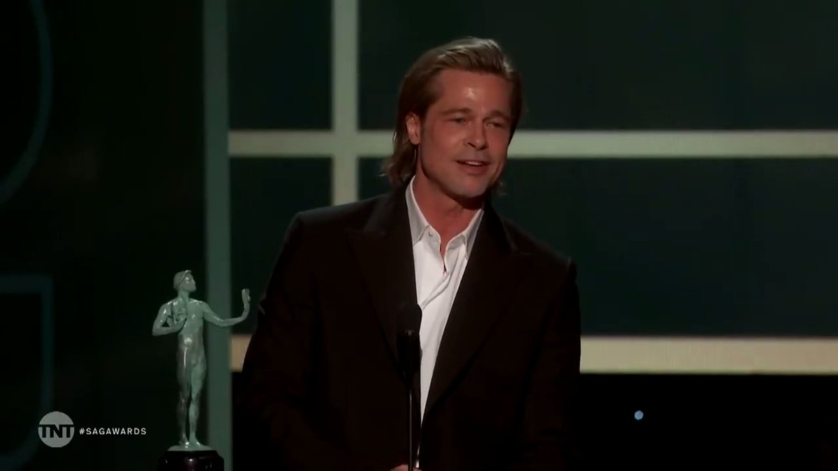 """""""I've been banging away at this thing for 30 years. I think the simple math is, some projects work and some don't. There's no reason to belabor either one. Just get on to the next"""" #righton #SAGAwards"""