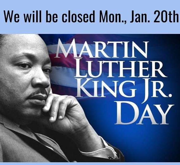 Closed for MLK Day!pic.twitter.com/o1jYSyAunO