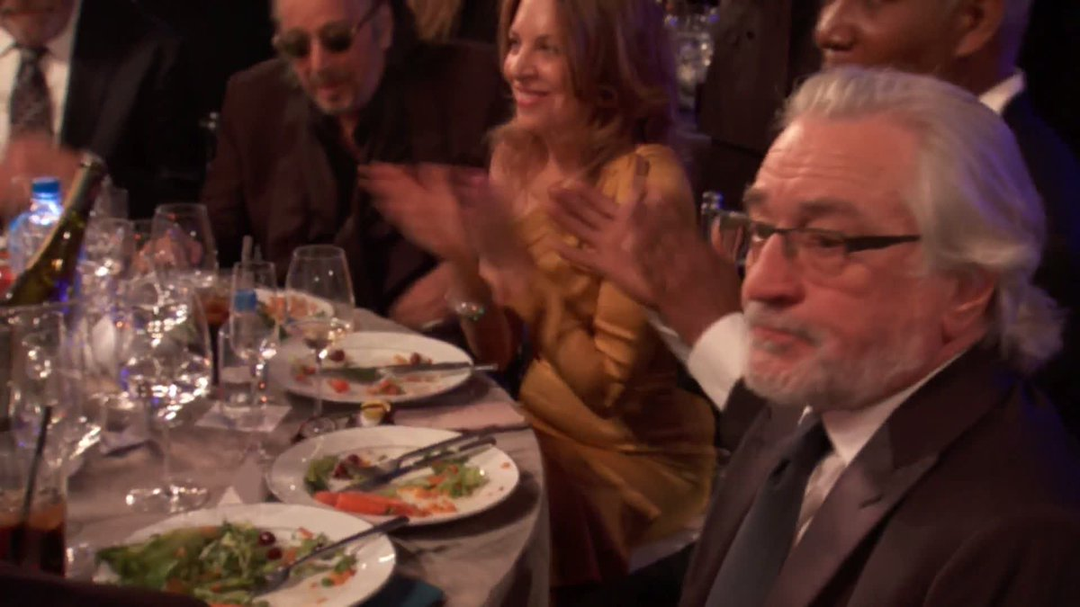 Robert De Niro Calls Out 'Abuse of Power' in Blistering SAG Awards Speech