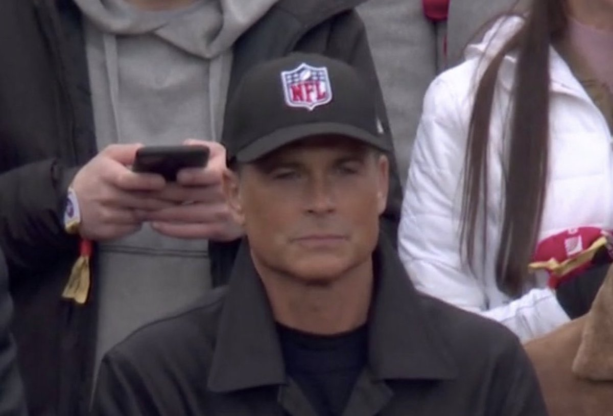 A LIDS EMPLOYEE, ONE WEEK AGO: Are you sure, sir? No ones ever bought that one before. Its kinda just for display. ROB LOWE: