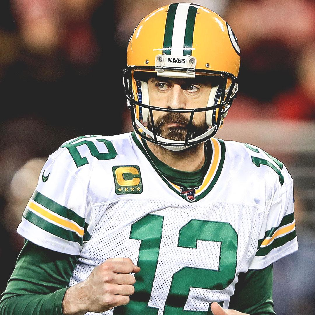 Aaron Rodgers passed Brett Favre for the most pass TDs (40) in Packers postseason history.