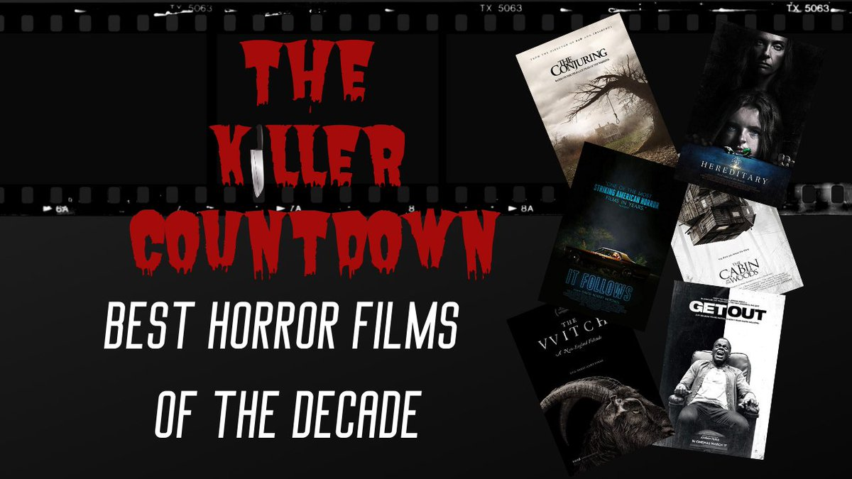 NEW EPISODE!   In this BONUS EPISODE of The Killer Countdown, we take a look back at our favorite horror films of the last decade! What are some of your favorites of the last 10 years?  Full Podcast: https://buff.ly/2ubePsl  #BackLot605 #TheKillerCountdown #MoviePodcast pic.twitter.com/ZC505h4NRN