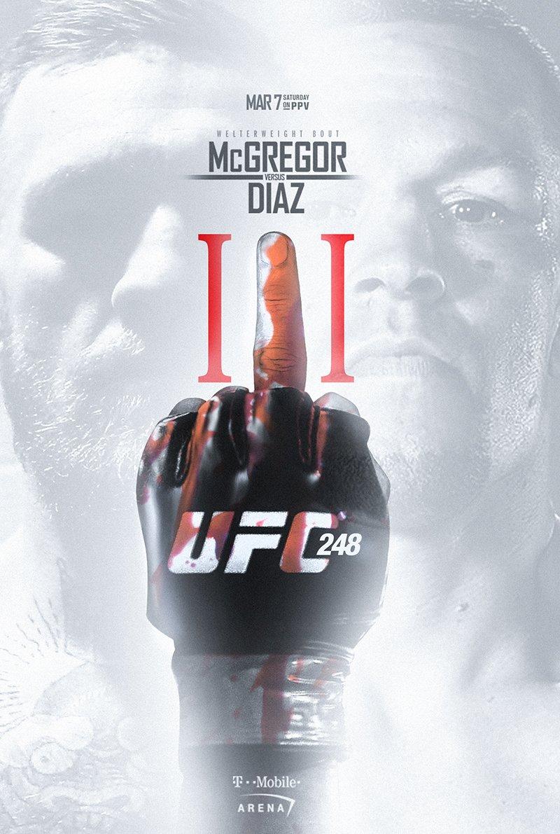 #UFC248 card 🤔😁🙏 #WW3 @TheNotoriousMMA @NateDiaz209