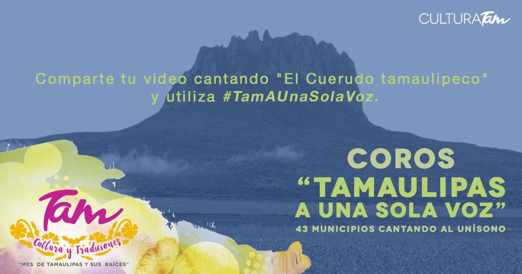 Sé parte de #TamAUnaSolaVoz compartiendo tu video. 🎶#GobTam #CulturaTam