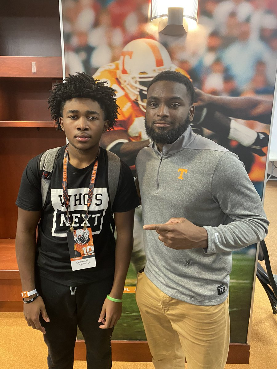 Thank you to the coaches and staff @Vol_Football for the visit. #PoweredByTheT