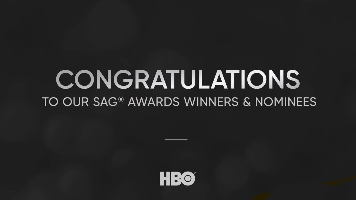 Congratulations to our 2020 @SAGawards winners and nominees. itsh.bo/sagawards