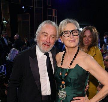 Muitos prêmios e talento em uma foto !! Duas lendas, De Niro e Meryl Streep juntos. #SAGAwards2020pic.twitter.com/hSGkOQIQqo