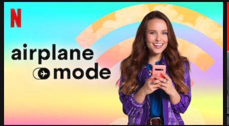 Know we're collectively stuck in hell bc there's a ROM COM called Airplane Mode on @netflix about an influencer who crashes her car while posting and is sent to her a rural town to get a digital detox pic.twitter.com/yBC4cKVtEl