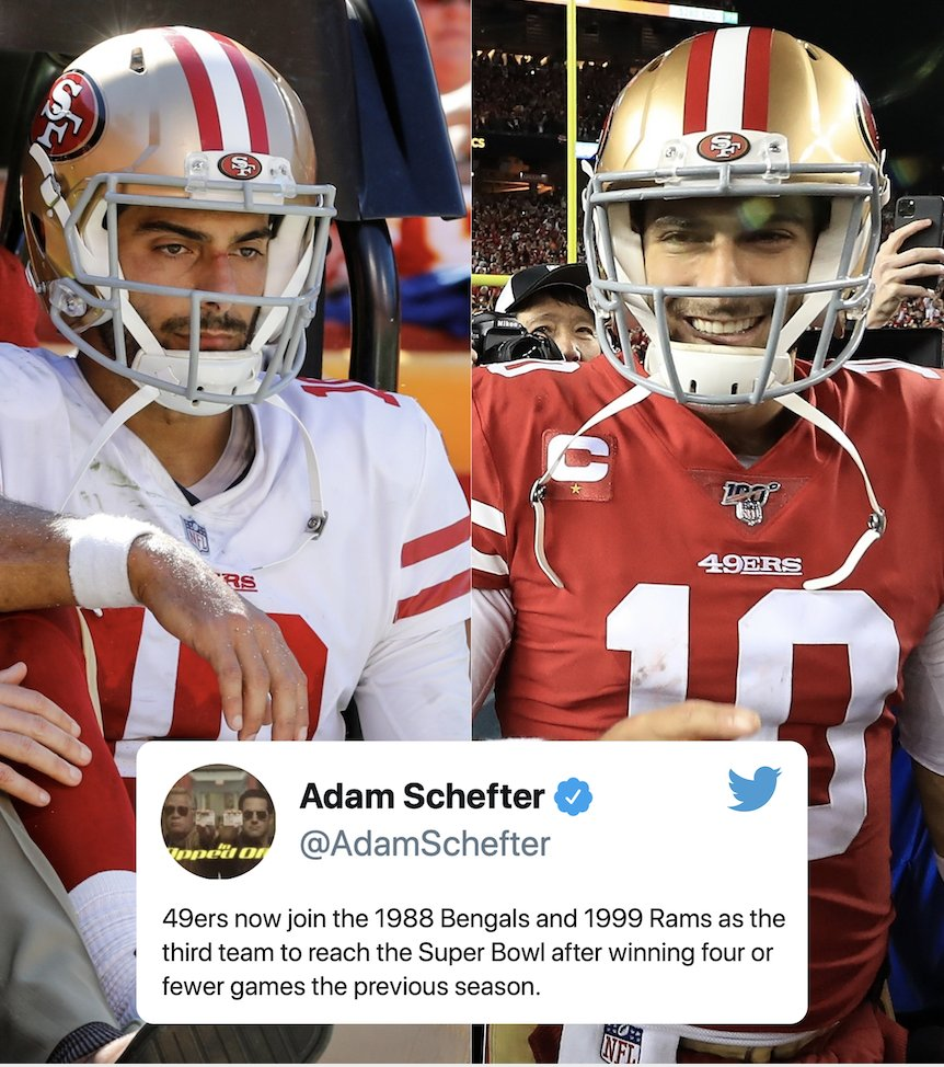 The 49ers are the epitome of 'there's always next year' 🙌 (via @AdamSchefter)