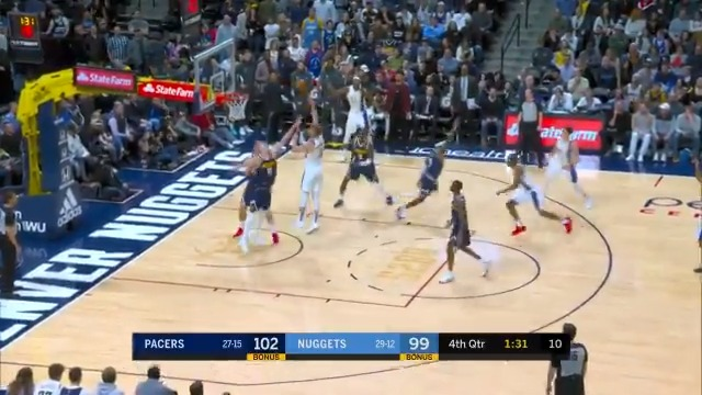 @Dsabonis11 records his 1st career triple-double with 22 PTS, 15 REB, 10 AST in the  @Pacers 5th consecutive W!  #IndianaStyle