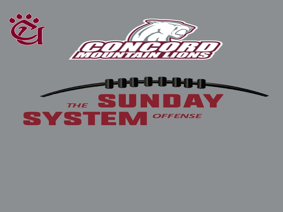 Excited and re-energized to become the Offensive Coordinator at Concord University. Big things happening at CU. #Sundaysystemoffensepic.twitter.com/oBK81vTc78